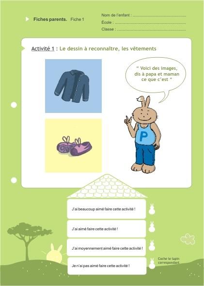 Eduquons ensemble avec Polo le lapin, extrait fascicule 3 (version parents-enfants)