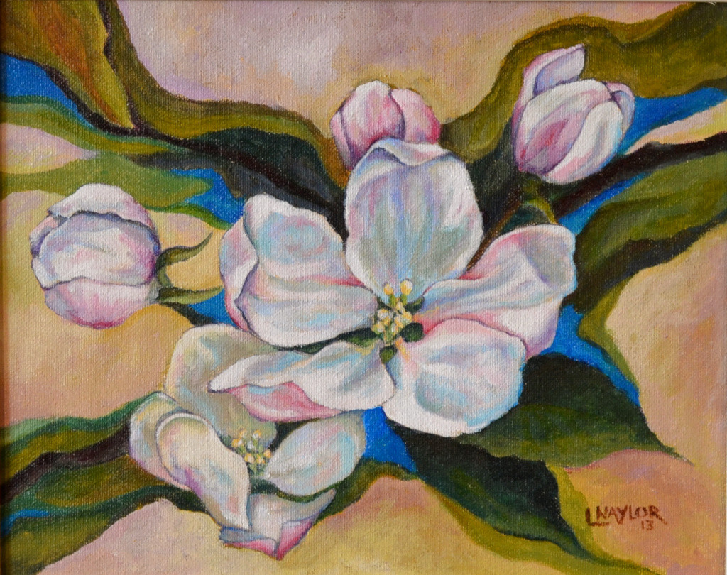 Apple Blossom 12x10 private collection