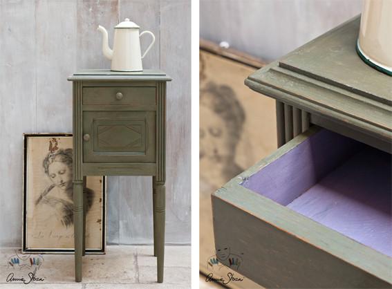 Very Kreidefarbe Annie Sloan Chalkpaint Olive - Wir von Nouvelle  WL89
