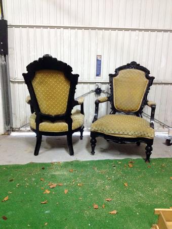 antiker Sessel von Nouvelle-Antique aus Aachen