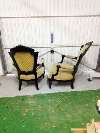 gebrauchter Sessel von Nouvelle-Antique aus Aachen