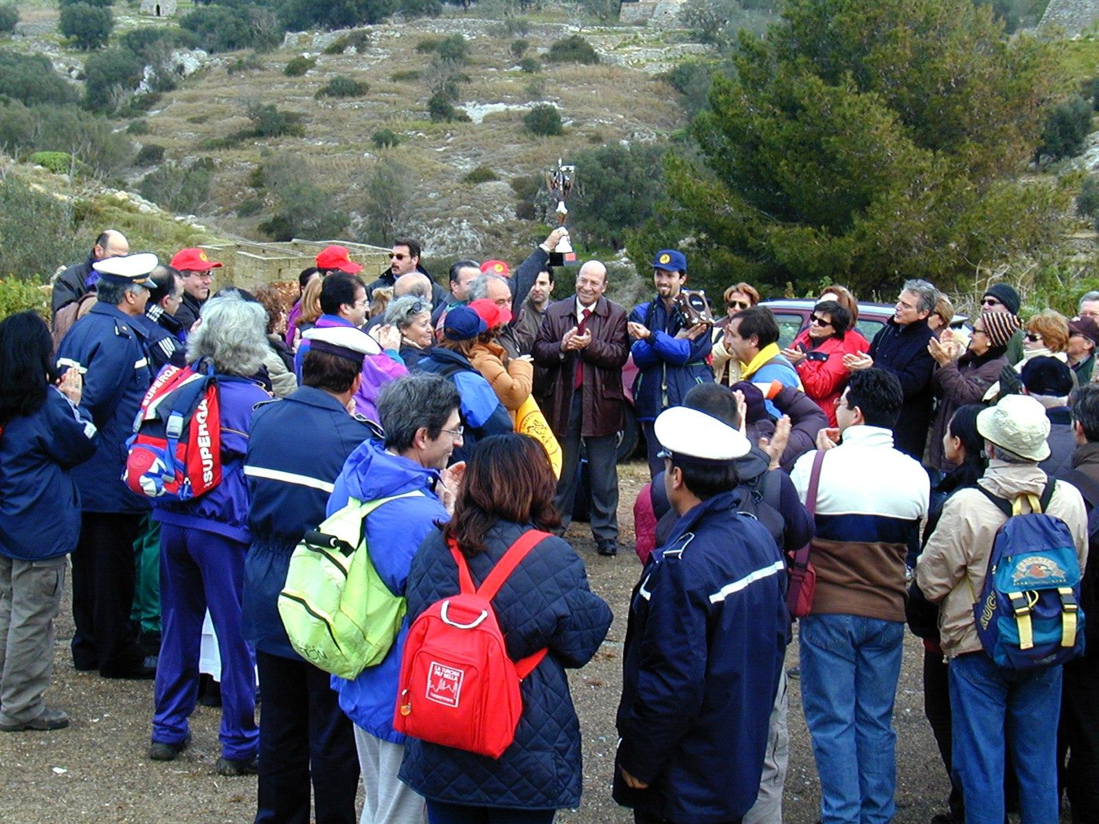 Manifestazione per la ricorrenza del decennale  | Ezio Sarcinella
