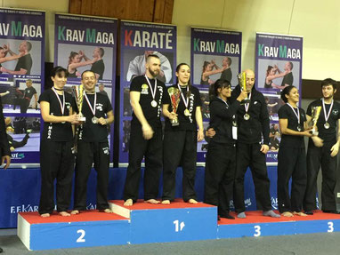 Résultats du championnat de France de Krav maga 2017