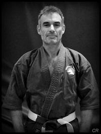 Yann-Eric Fleurant champion de France Karaté contact catégorie Vétérans -76 Kg