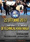 Le 1er Championnat d'Europe de krav maga à Florence 2018