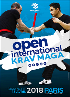Open International de krav maga 2018