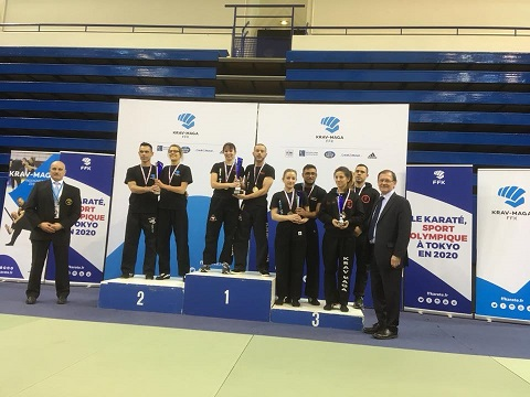 Championnat de France de krav maga technique Espoirs Mixte