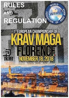 Championnat d'Europe de krav maga 2018