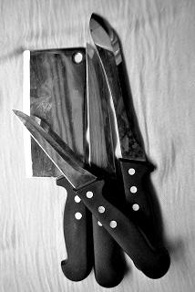 Self défense au couteau et anatomie