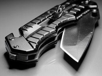 Self défense port d'un couteau législation