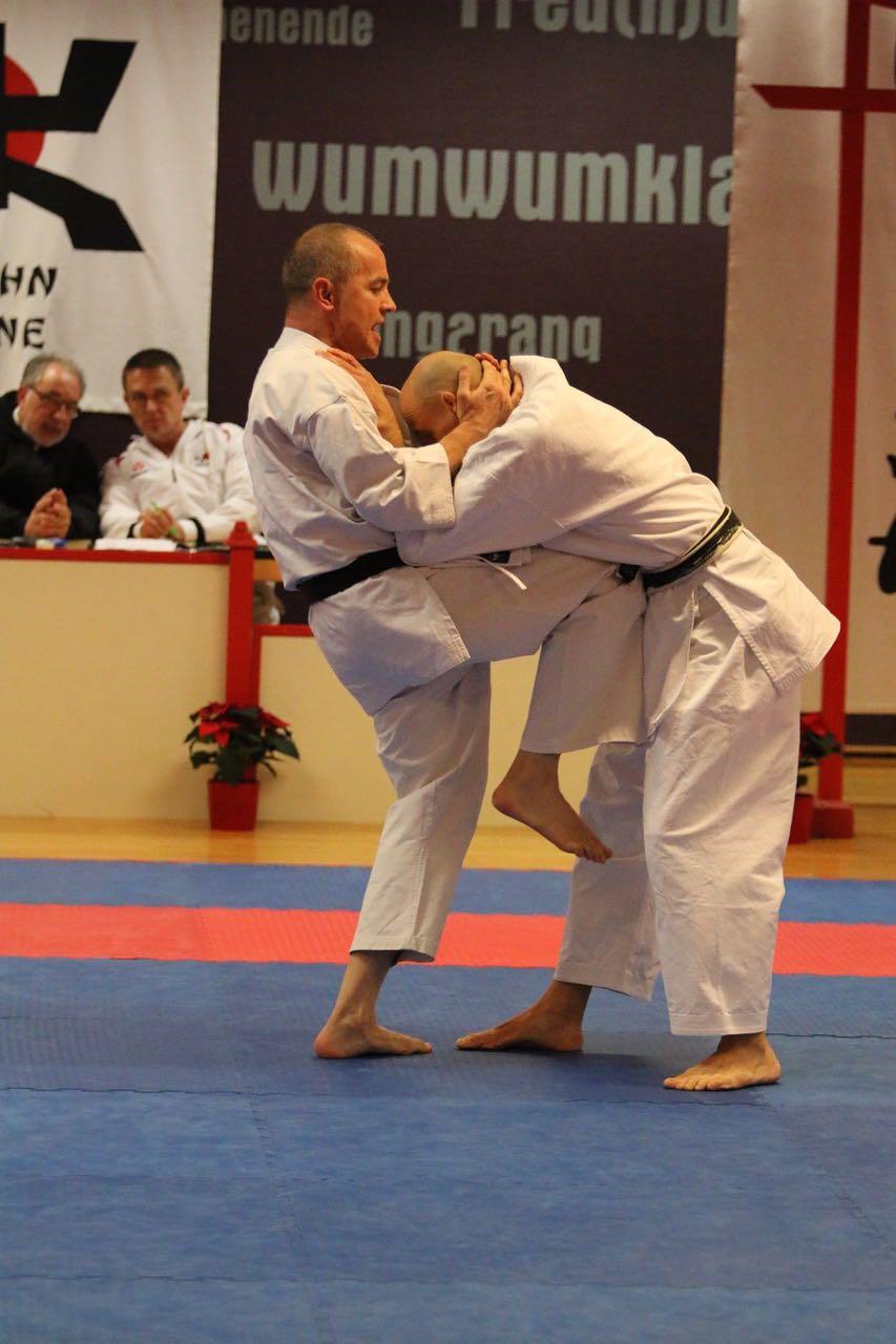 Karate Dan Prüfung von Thomas Skwarr in Rheine
