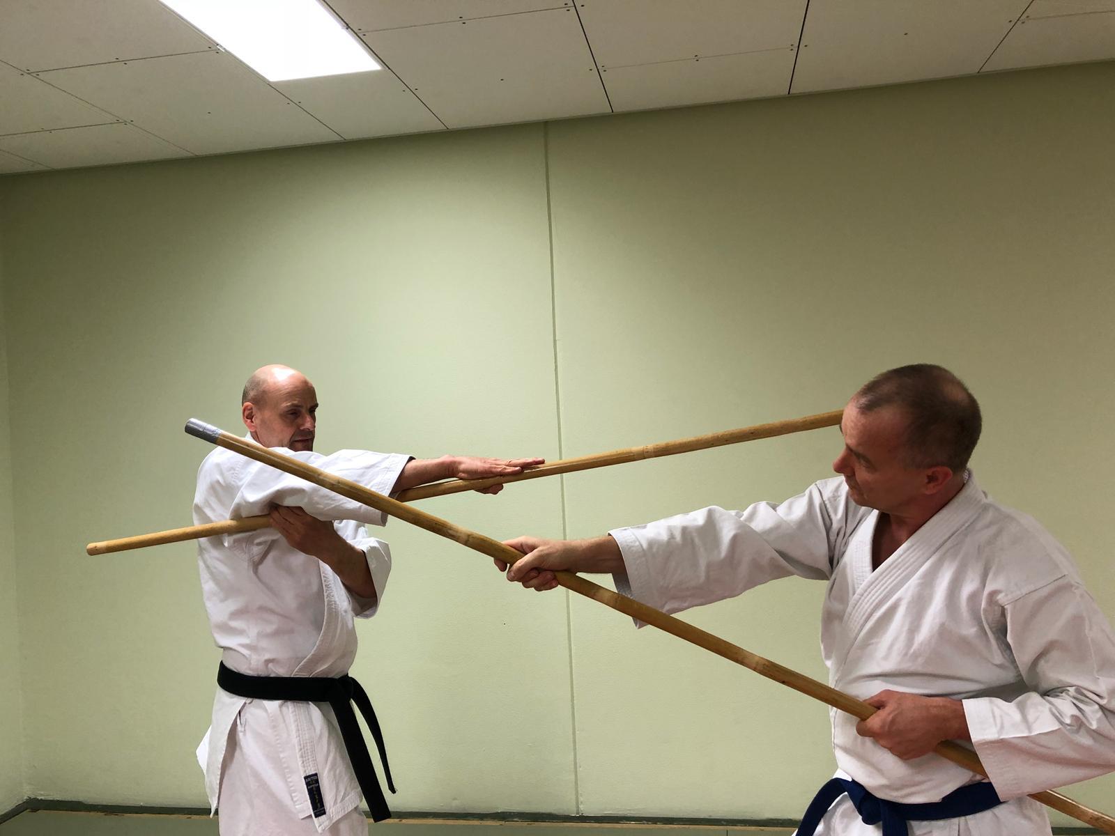 Bo Training René Roese und Thomas Skwarr