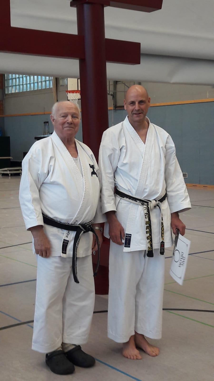 Karate Dan Prüfung Fitz Nöpel und René Roese