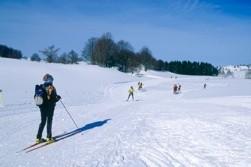 Ski de Fond au Plateau du retors© Jean-Pierre Gotti/Aintourisme