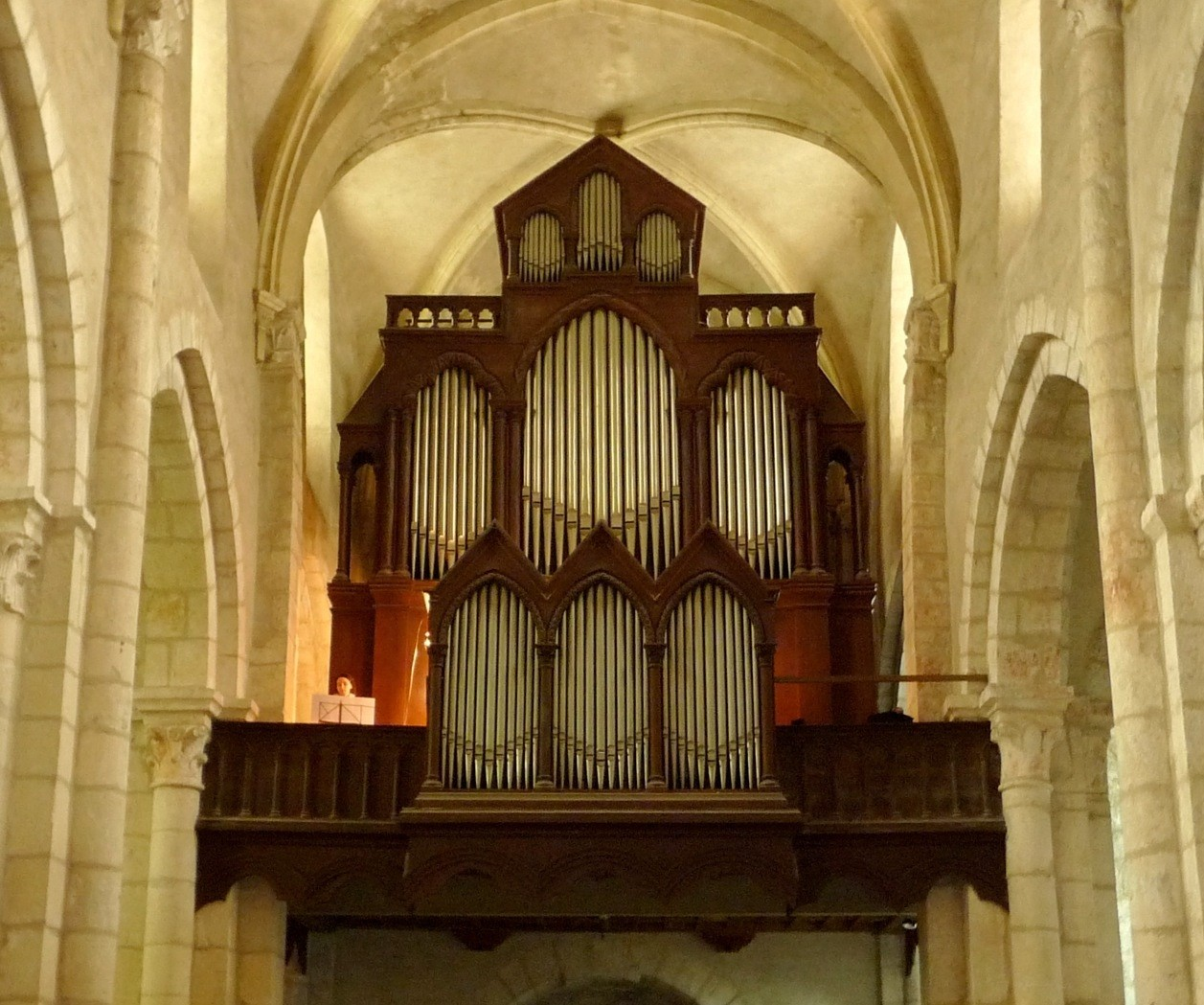 Orgue de l'abbatiale Saint-Michel