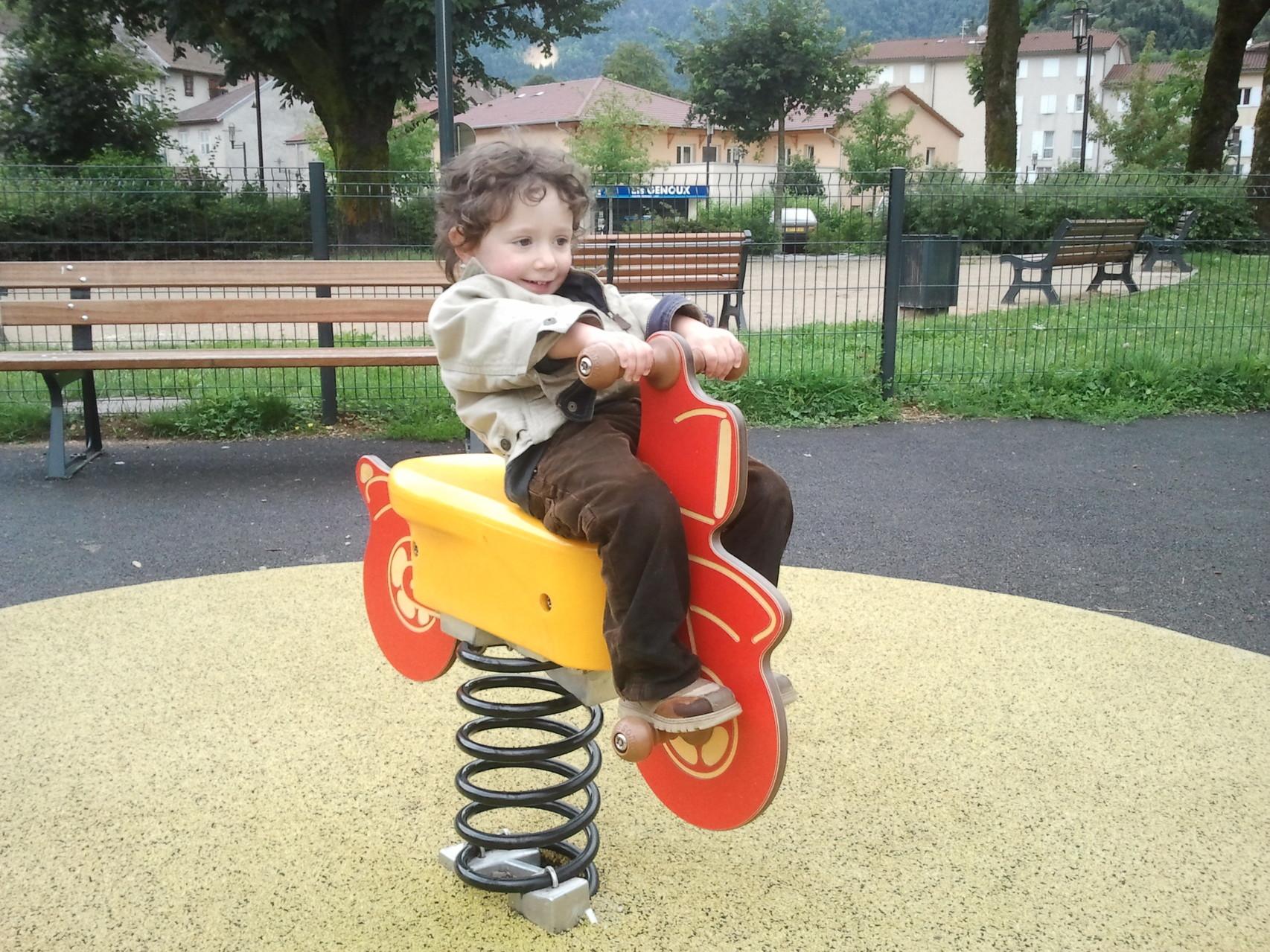 Parc jeux Nantua