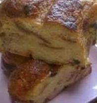 pudding au pain québécois