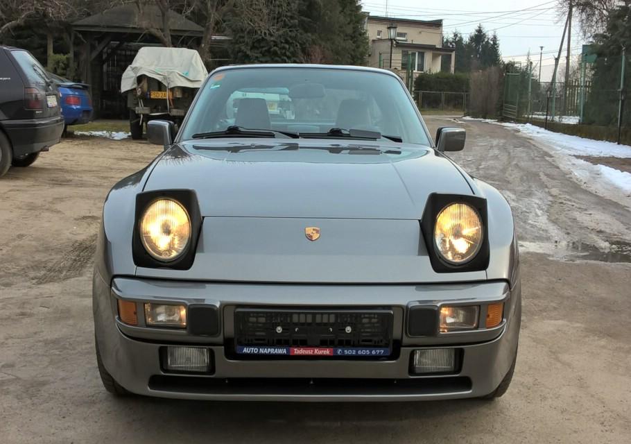 Porsche 944 anthrazit