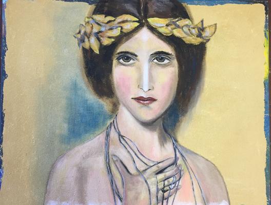 """""""Ophelia"""", 70 x 85cm, Nr. 820"""