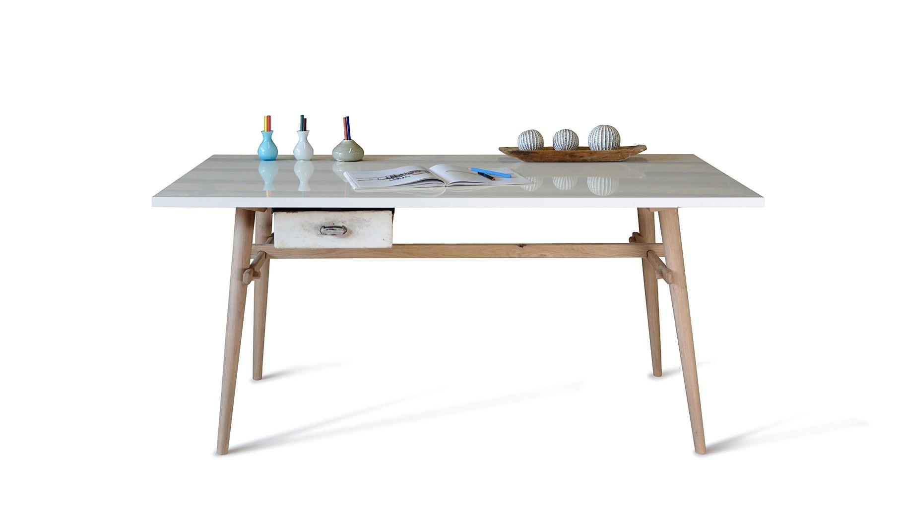 Schreibtisch modern ansehen neuformat m beldesign for Schreibtisch untergestell