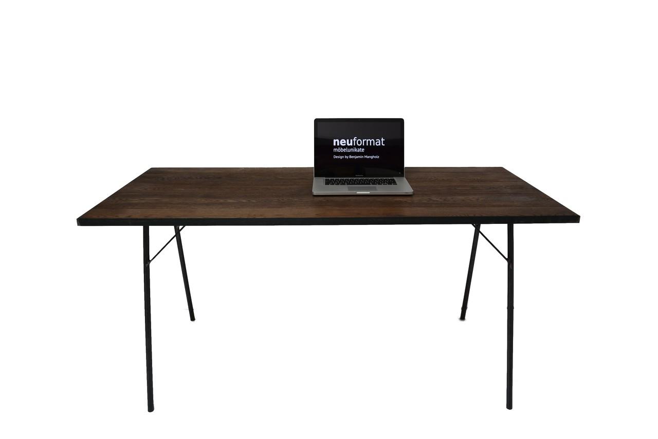 Schreibtisch rustikal ansehen neuformat m beldesign - Schreibtisch rustikal ...