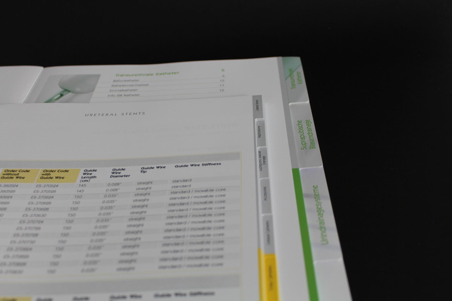 Registerstanzung ab Auflage 1.