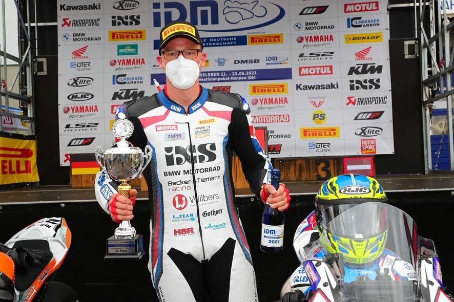 Becker-Tiemann Racing belegt mit Marvin Jürgens den 2. Platz beim ersten Rennen des Pro Superstock Cup 2021