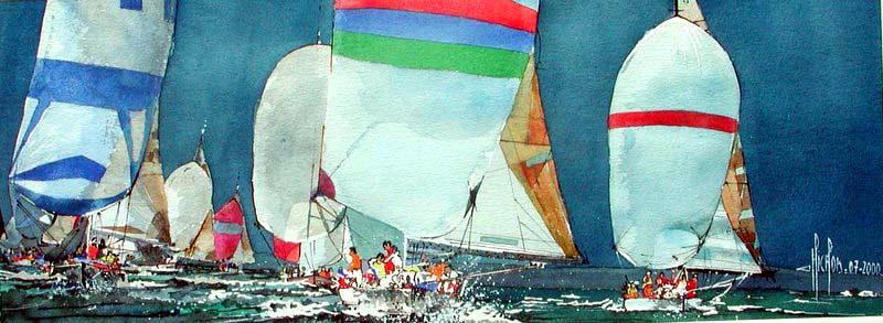 15 Spis - 2000 - Aquarelle 24 x 50