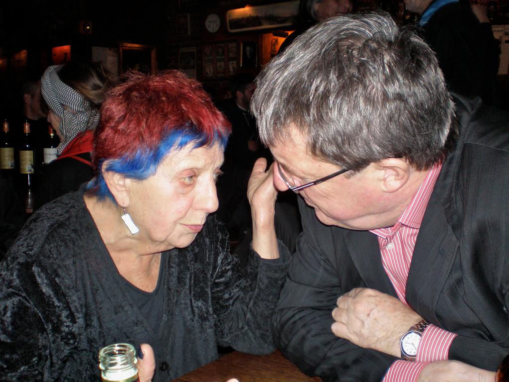 Ruth Weiss, E.S. im Specs