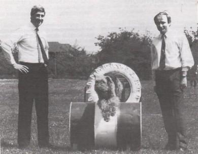 Die Stadtoberhäupter Dr. Gantner (Herrenberg) und Besson (Tarare) besuchten am 14. Mai 1988 den Verein.