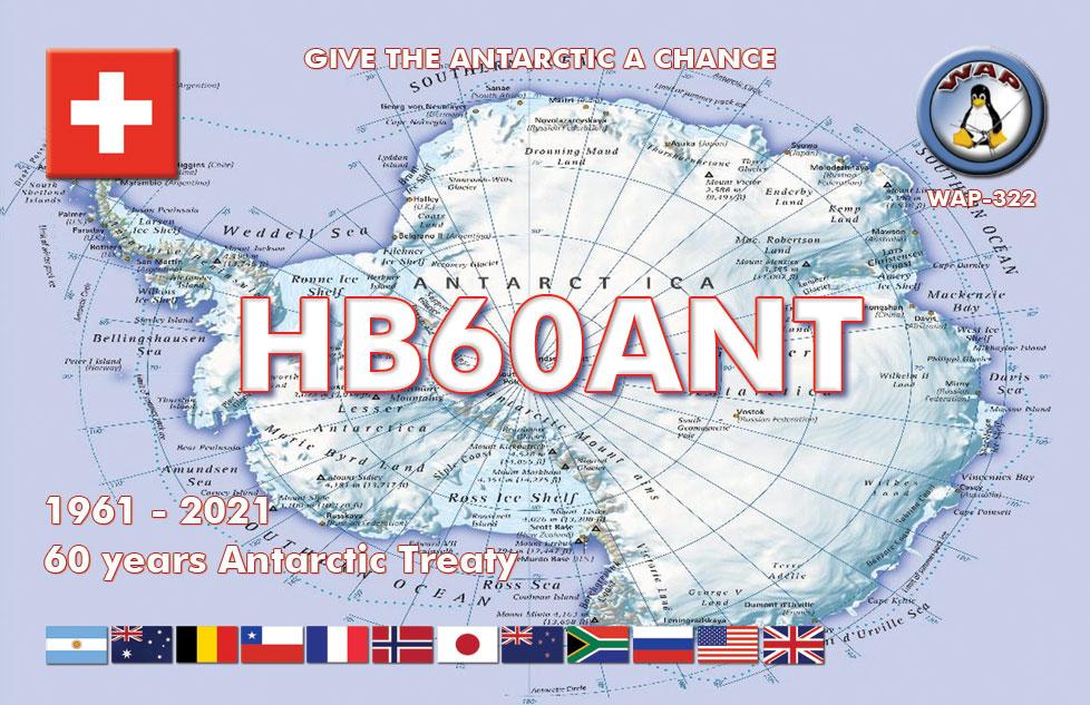 HB60ANT auf QO-100 qrv