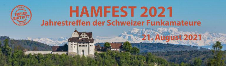 Swiss AMSAT Operator am Hamfest 2021