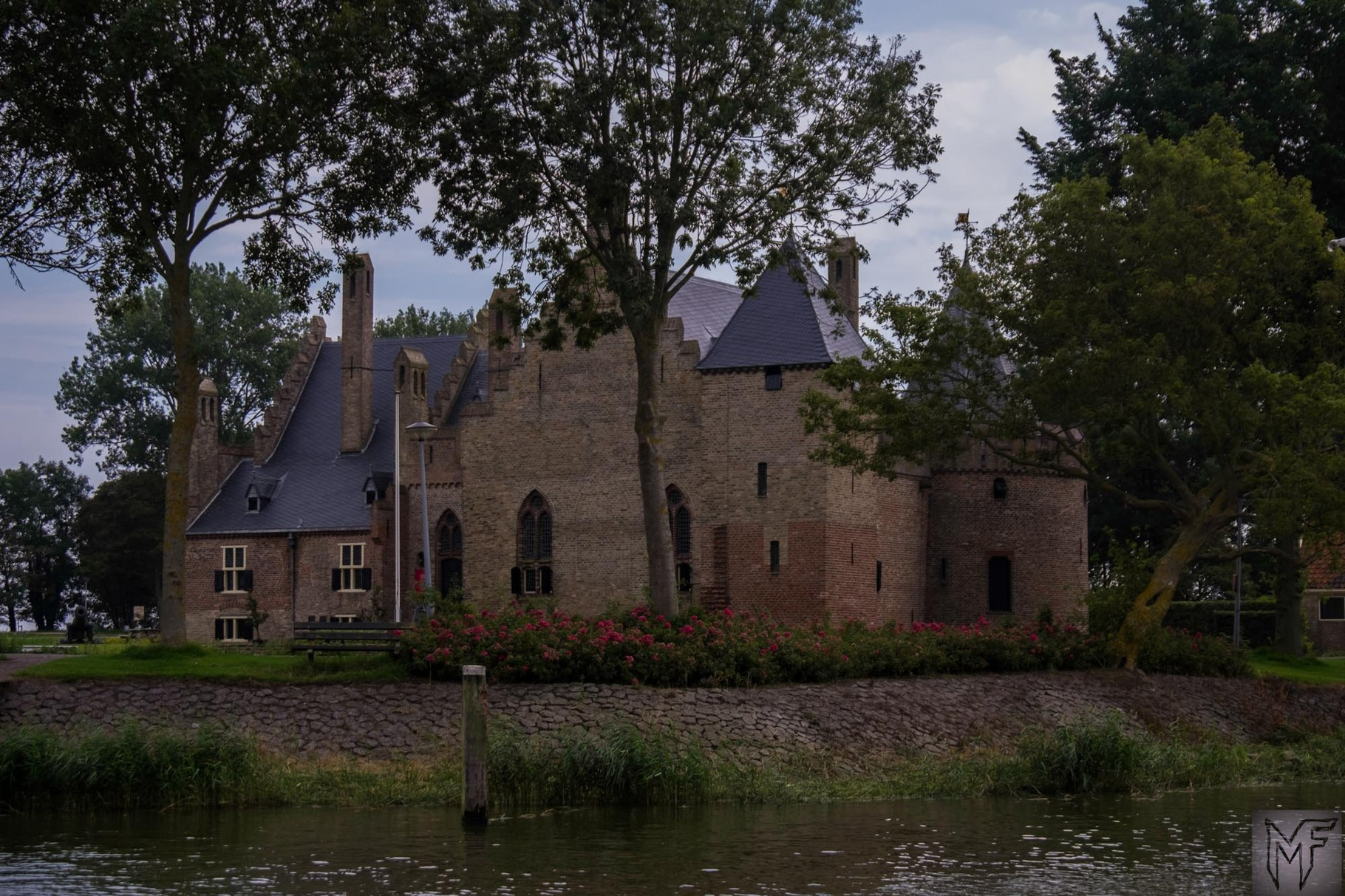 Medemblik Schloss Mies Vandenbergh Fotografie