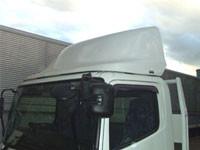 トラック導風板(FRP加工) 装着車