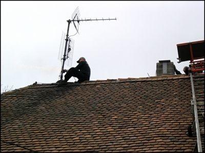 Antenne abbauen
