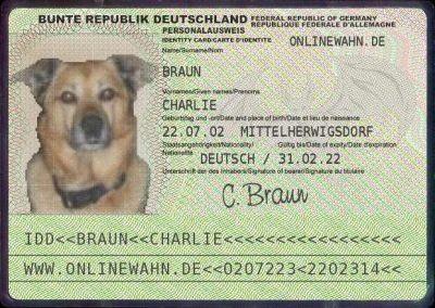 """""""Ich habe sogar einen eigenen Personalausweis"""""""