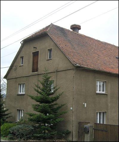 Storchennest auf dem Dach