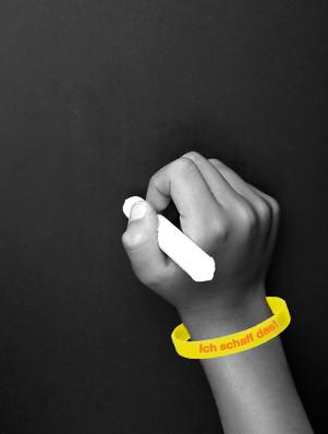 ownBand Silikonarmband Schul-Armband, Studenten-Armband