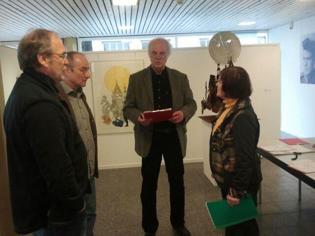 Uwe Gronert Andreas Rosenthal Klaus Kösters und Ellen Schwinzer