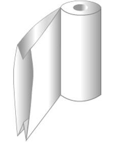 Seitenfalten-Schlauch-Folie