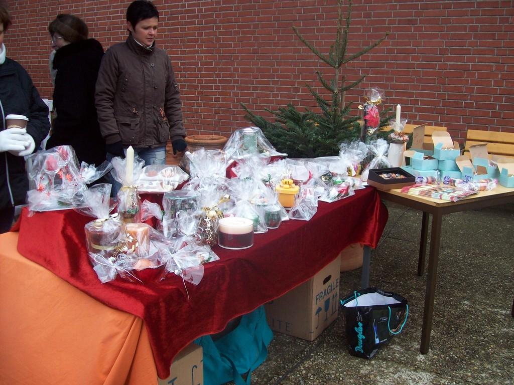 Weihnachtsmarkt 2008 Haus Engelsdorf