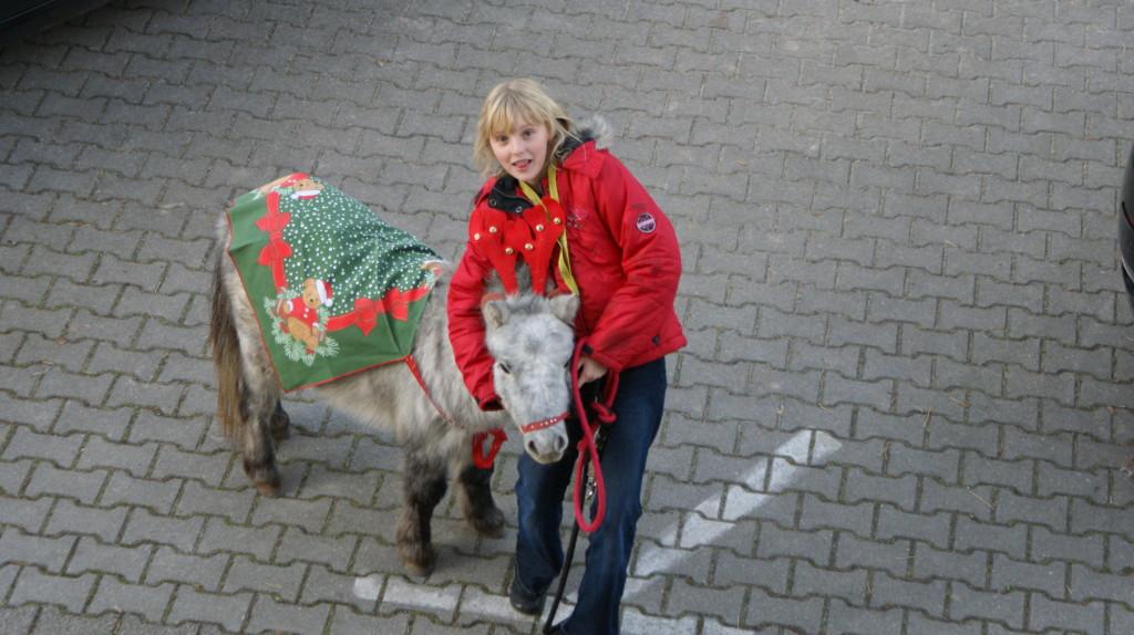 Weihnachtsmarkt 2009 Haus Engelsdorf Pegasus