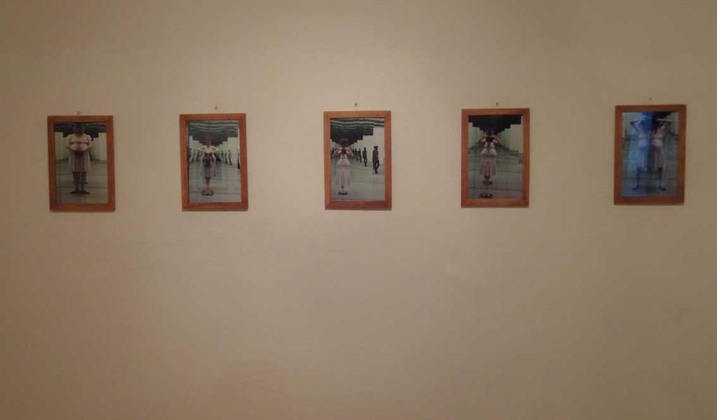 "BIG PROJECT, The Exhibition, Agnes Rossa ""Selbstportrait mit Carmen"""