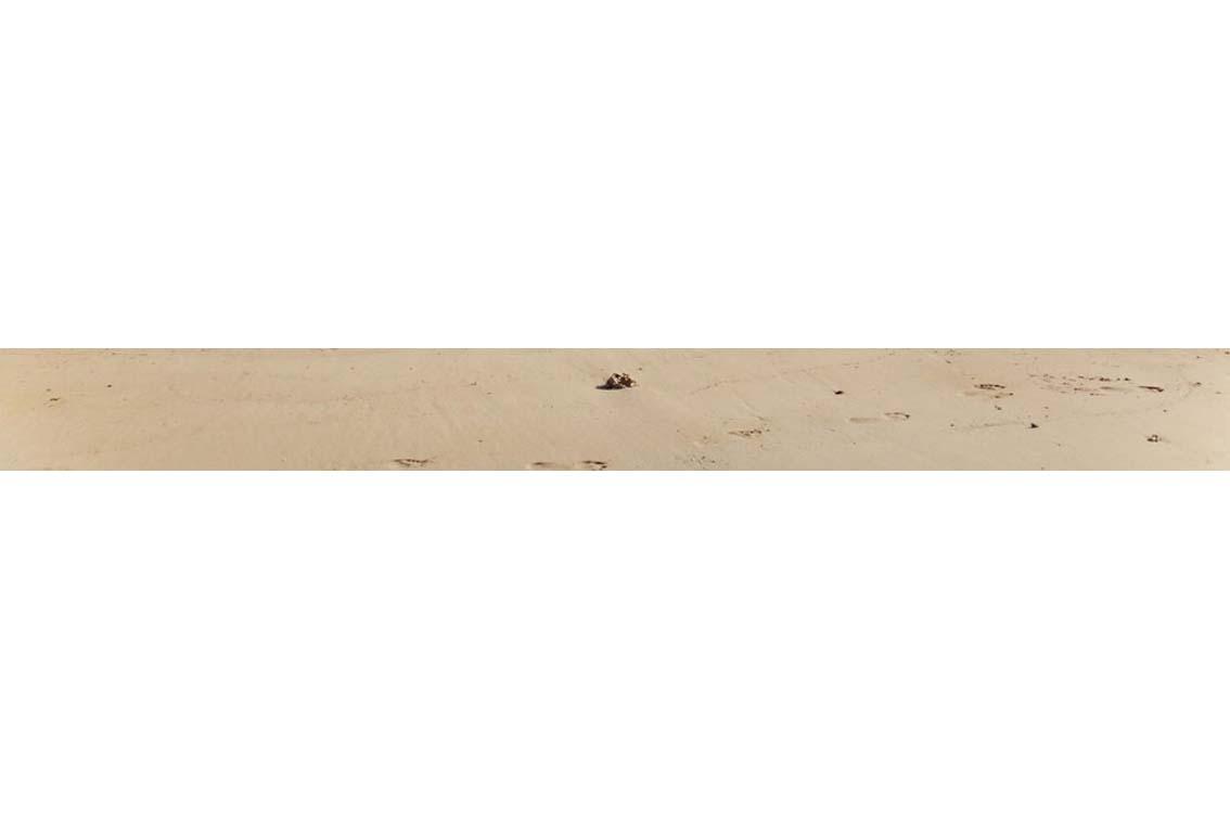 footprints – way to work Lambda C-Print on PVC, 78 x 7,7 cm, ICW und Tessa Miller, 2013