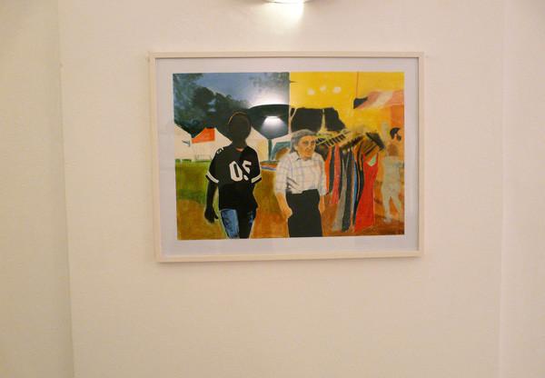"Projektionen 2010, Anne Suttner ""Frau Bock"""
