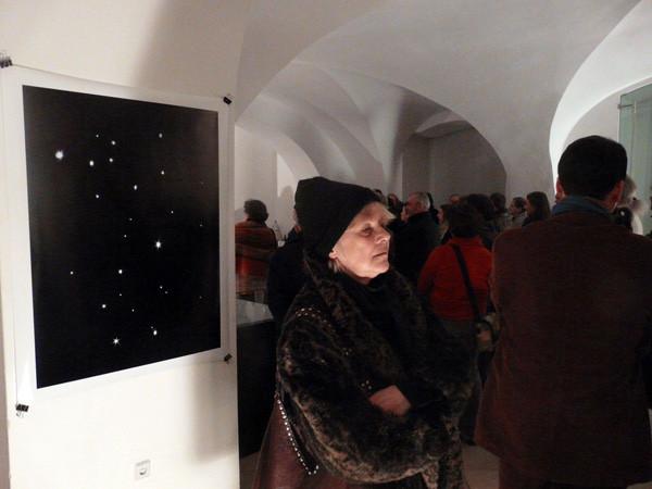 """Projektionen 2010, Christian Rupp """"Sternzeichen: Projektion"""", aus der Serie """"Shooting Stars"""""""