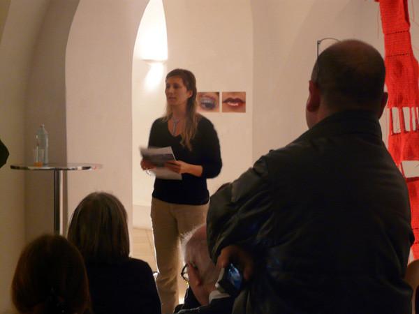 Projections 2010, Exhibition Opening, Isabel Czerwenka-Wenkstetten
