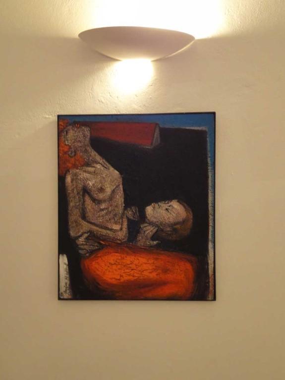 """BIG PROJECT, The Exhibition, Maria Seiller-Nedkoff """"Das einsame Haus"""","""