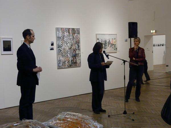 Becoming a Man - Ein Fest ,Peter Bogner, Botschafter Dr. Claudia Rochel-Laurich, ICW