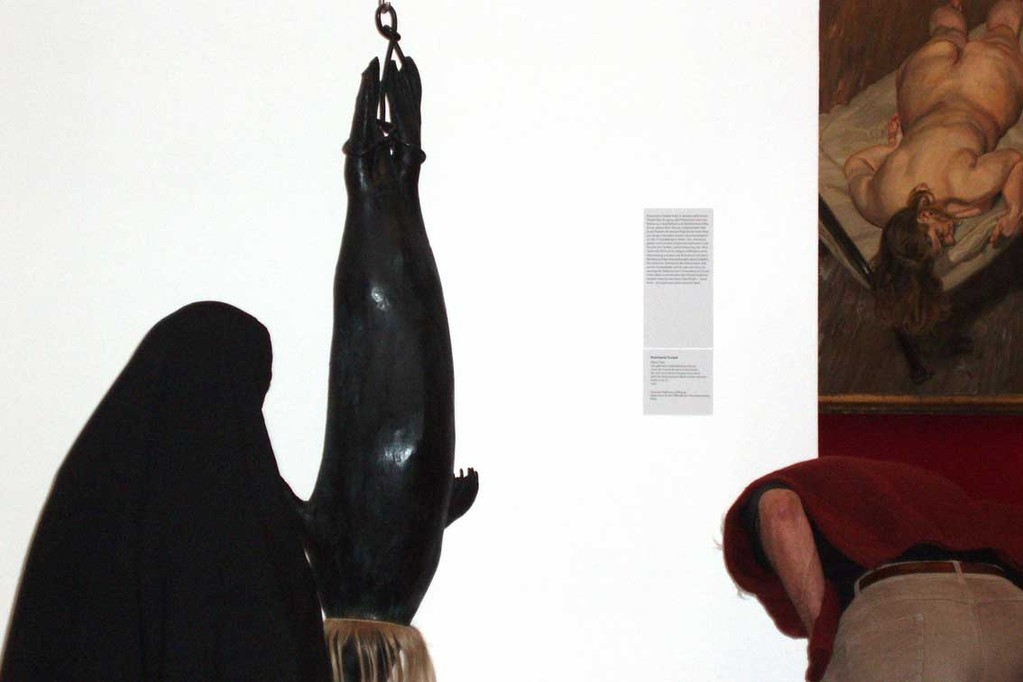 "Untitled in exhibition ""Eros"", 7.9 x 11.8 in"